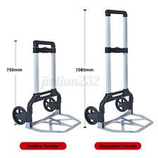 550lb Portable Cart Folding Dolly Push Truck Hand Warehouse Trolley Luggag