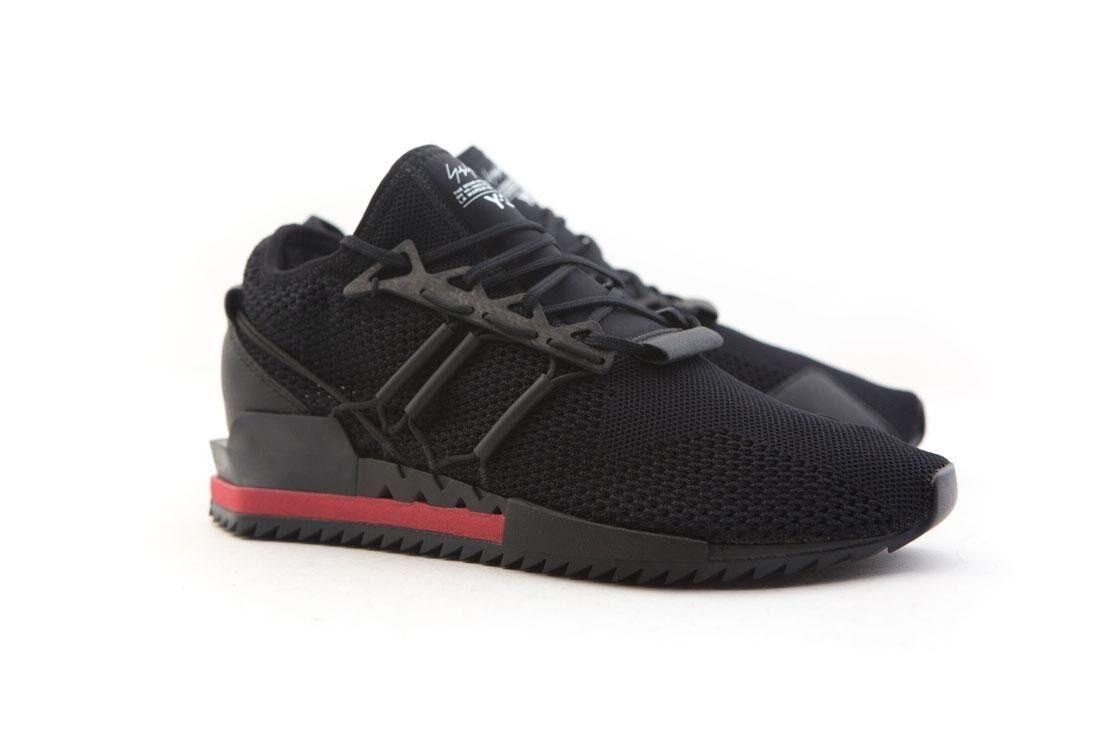 AC7192 Adidas Y-3 Men Harigane black chalk white chili pepper