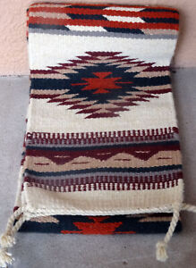 Details About Southwestern Table Runner 33 10x80 Hand Woven Southwest Wool Geometric Design