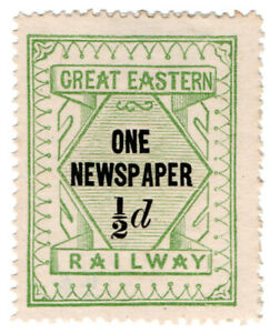 I-B-Great-Eastern-Railway-One-Newspaper-d-without-control