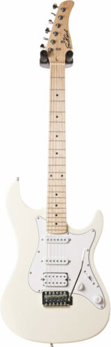 EastCoast GS100H Arctic White MN HSS Electric Guitar