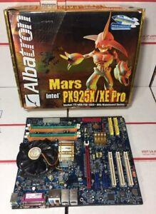 RARE-Albatron-Intel-PX925X-XE-Pro-Socket-774-with-FSB1066-MHz