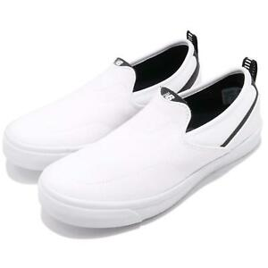 New-Balance-AM101WHT-D-Fresh-Foam-White-Black-Men-Women-Shoes-Slip-On-AM101WHTD