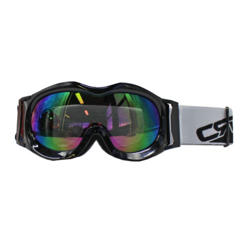 Black Outdoor Windproof Ski Snow Glasses Climbing Goggles for Kids Children