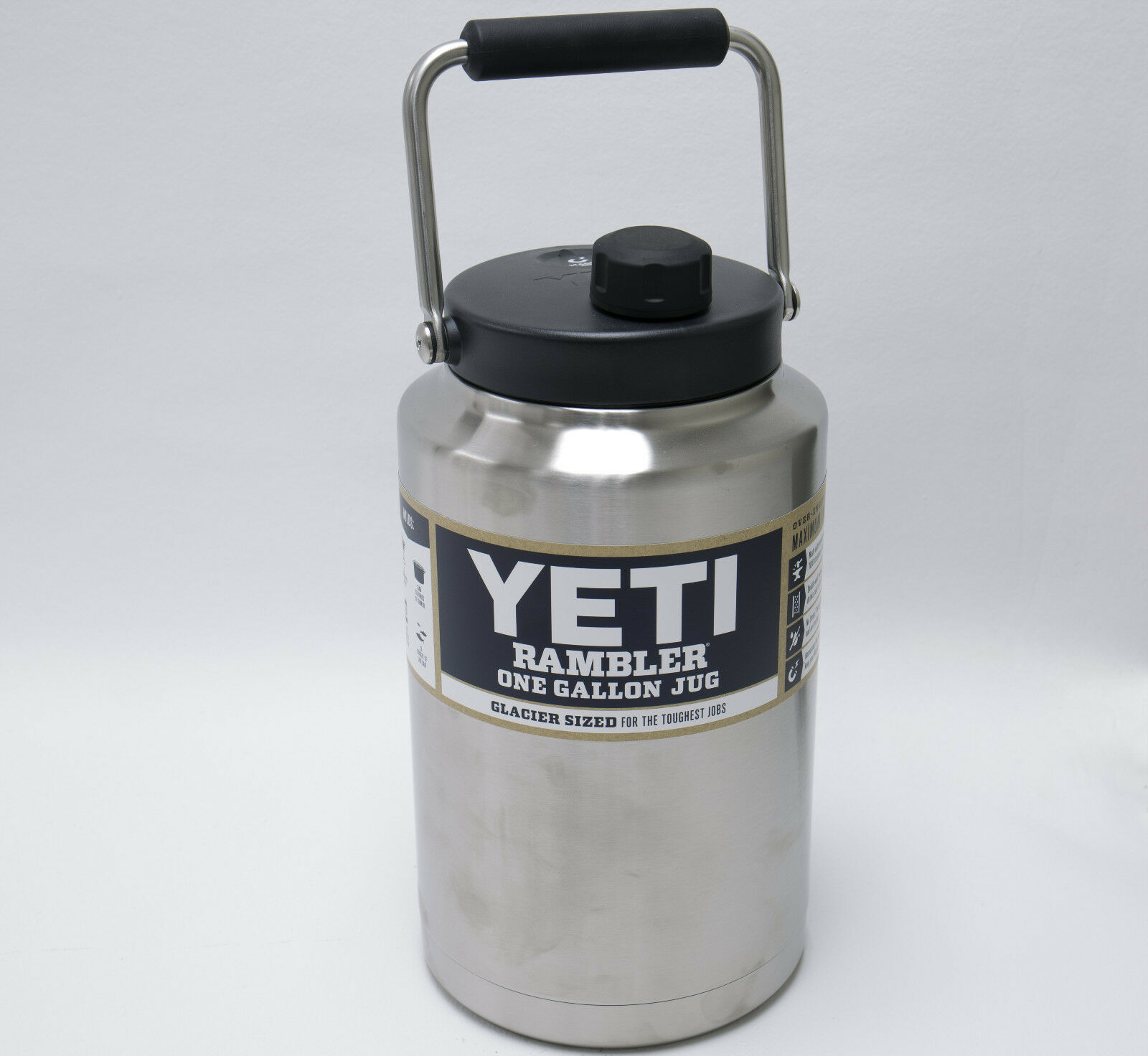 Brand New YETI Rambler One Gallon Jug Stainless Steel YRAMOGJ FREE SHIPPING