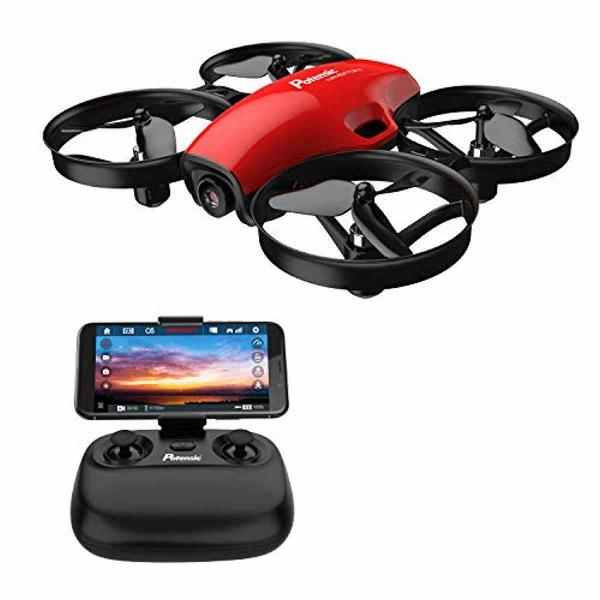 Dron Drone Con Camara De Video Wifi Control Remoto Recargable Android iPhone App