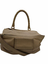 Givenchy Beige Pandora Medium Calf Leather Shoulder Bag Handbag