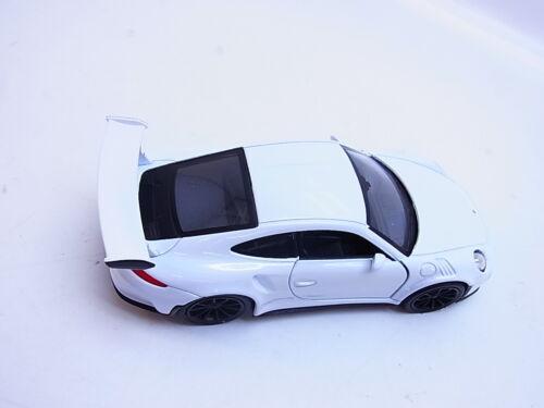 LOT 53178Welly Porsche 911 GT3 RS weiss Modellauto 1:40 NEU