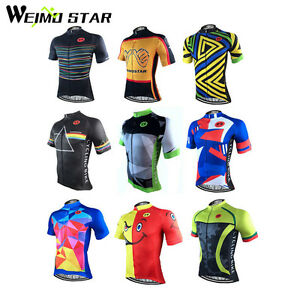 e909191baea WEIMOSTAR Bike Men s Cycling Short Sleeve Jerseys Tops T-shirts ...