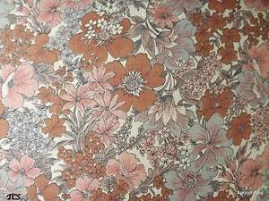 91-cms-x-200-cms-Vintage-LIBERTY-TANA-LAWN-Cotton-Fabric-Floral-Flowers-Unused