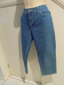 EMERSON-SIZE-14-BLUE-DENIM-STRETCH-CROPPED-3-4-JEANS