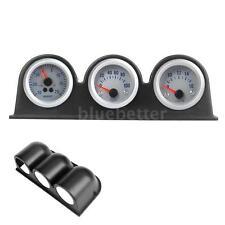 "KKMOON Triple Three Auto Car Gauge Meter Pod Holder Cup Mount 2"" 52mm V9M4"