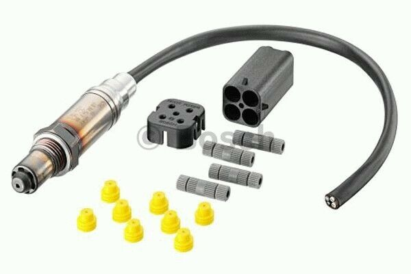 Genuine Bosch 0258003806 Lambda Oxygen Sensor Left//Rear 98660612600 98660612601