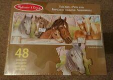 Kids jigsaws Melissa and Doug HORSES floor puzzle 48 pc jigsaw puzzle horse pony