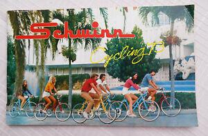 Schwinn Cycling 1973 Bike Sales Brochure Ad Book Krate Stingray vintage bicycle