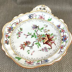 Details about Antique English Porcelain Bowl Chinese Leaf Hand Painted  Early 19th Century