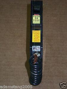 SQUARE D QO QO120 1 pole  20 amp 120v 240v circuit breaker BLACK SNAP IN