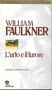 L-039-Urlo-E-Il-Furore-William-Faulkner-Oscar-Mondadori-Narrativa-1999