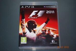 F1 2011 PS3 Playstation 3 ** FREE UK LIVRAISON **