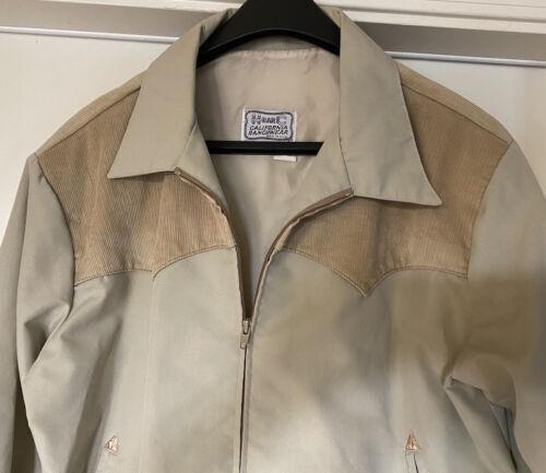 Vintage H Bar C Western Jacket XL Beige