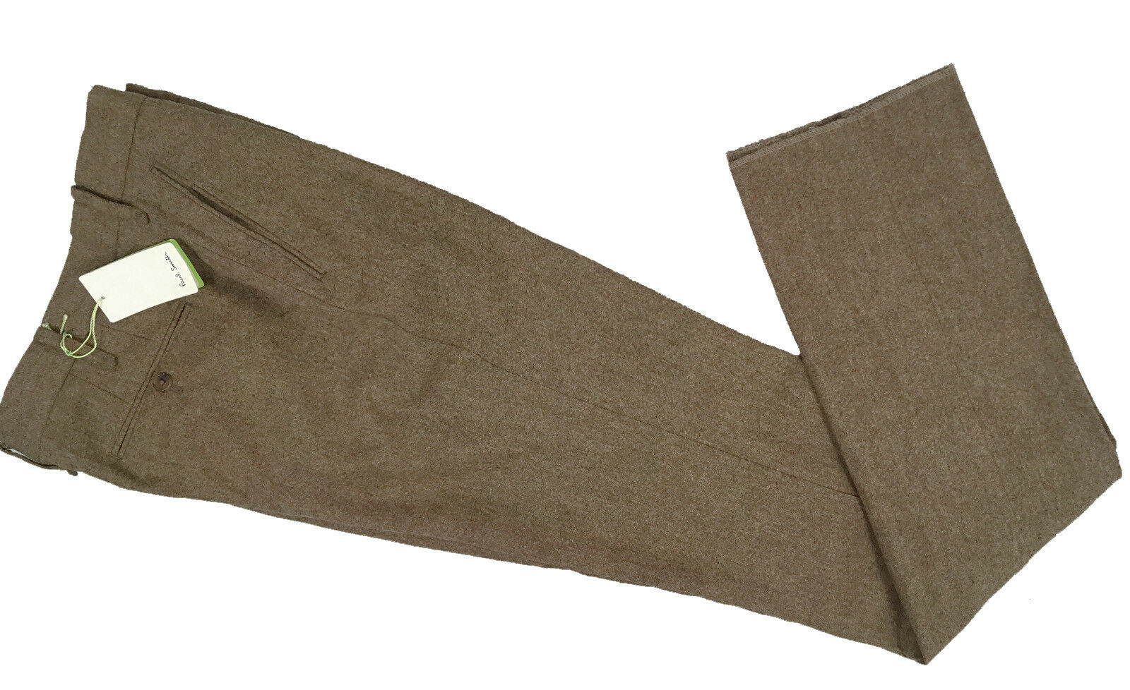 NEW  Paul Smith Slim Fit Pants   34   Brown Tweed  Heavier  MADE IN JAPAN