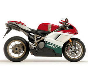 Verkleidung-Lacksatz-ABS-Fairing-Bodywork-Fuer-Ducati-1098-848-07-09-Weiss-Schwarz