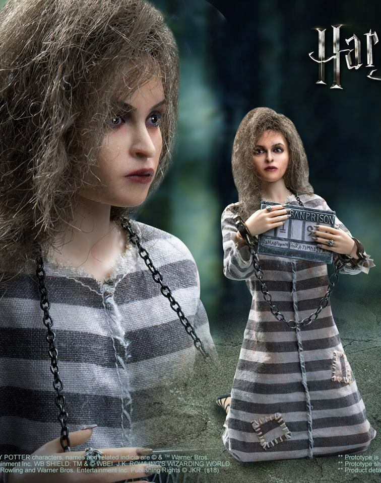 Star Ace 1 6 Harry Potter series  Bellatrix Lastrange Prisoner Version SA-0054