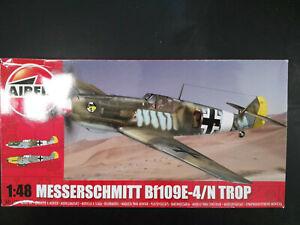 Messerschmitt-Bf-109-E-4-N-Trop-Airfix-Scale-1-48-Kit-A05122A