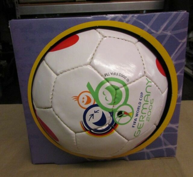 a95040a77f New Old Stock OFFICIAL WORLD CUP BALL 2006 GERMANY Size 5 Rare Soccer  Football