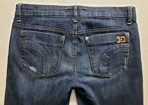 Joes-Jeans-Provocateur-Womens-Blue-Denim-Size-29-x-30-Boot-Cut-Dark-Wash-Mid-EUC