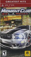 Midnight Club: Los Angeles Remix PSP, New Sony PSP