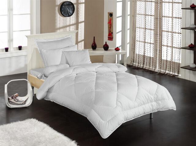 FAN Steppbett geruchsfreie Schafwolle Winter Luxus Bettdecke 155 x 220 cm