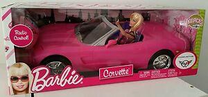Barbie Télécommande Rose Corvette Convertible Voiture & Poupée R1638 Nouveau Jouet Cadeau ????-afficher Le Titre D'origine MatéRiau SéLectionné