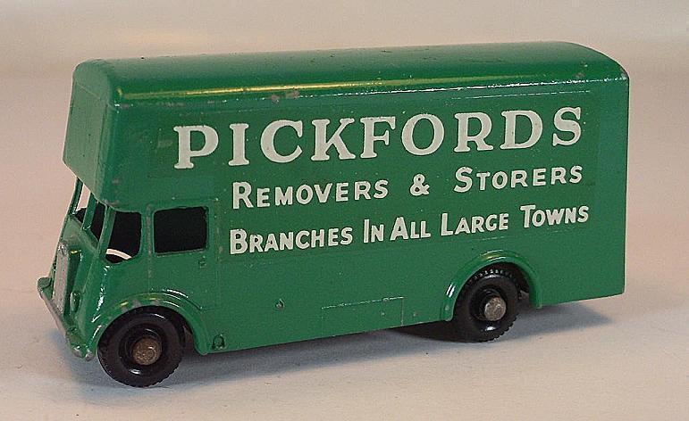 Matchbox regular Wheels nº 46 B Pickford removals verde BPW Lesney