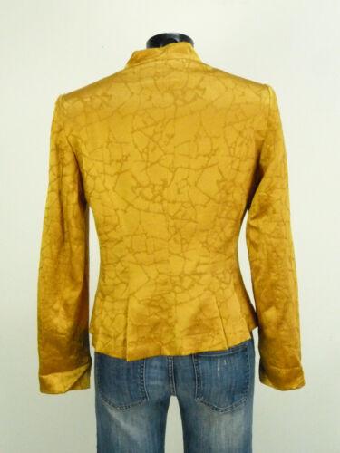 Edel O Muster Mit N amp; 38 Paris 5561 Seide Gr Braun Elegance Blazer qATxzYwq7