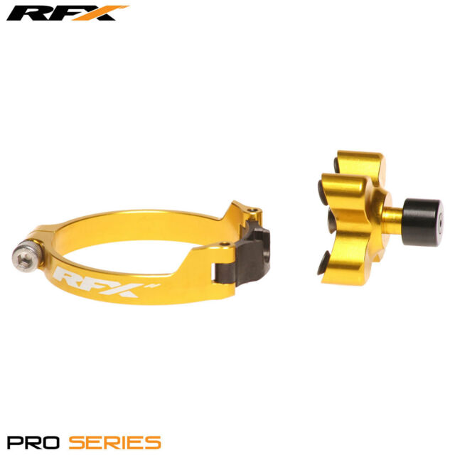 RFX Pro Series MX Launch Control Holeshot Device Yellow Suzuki RMZ 450 2013 2014