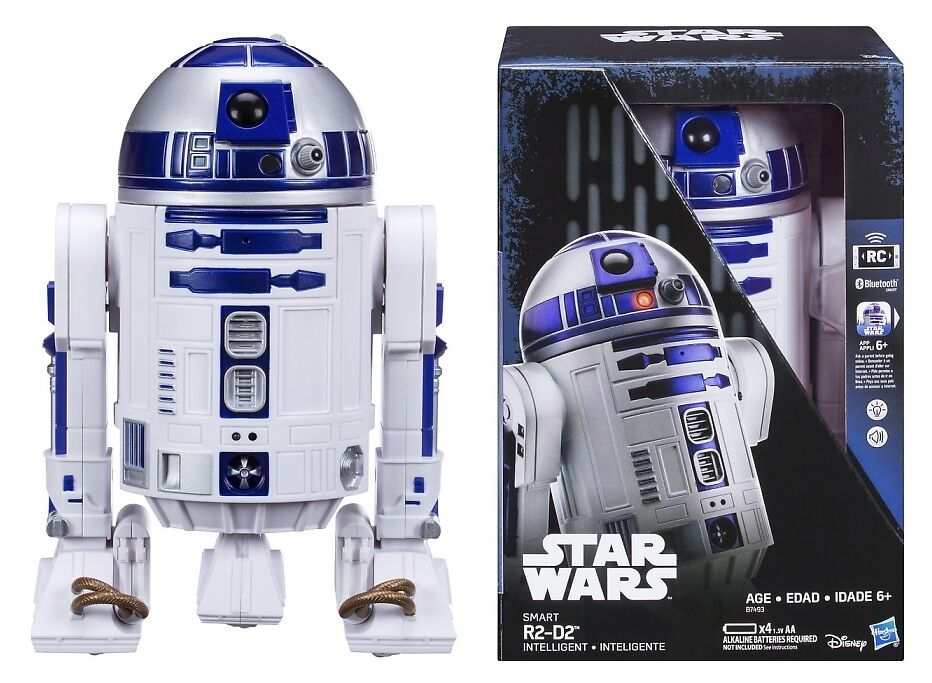 Star Wars Smart R2-D2 Intelligent Droid Interactive Blautooth Robot Vehicle