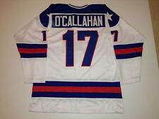 Jack O'Callahan 1980 Miracle On Ice USA Hockey White CUSTOM Jersey Size 2XL