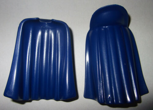 dunkelblau 2x Umhang Cape 17110 mit Kragen Mantel