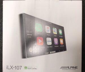 Alpine Ilx 107 Wireless Apple Car Play Radio Double Din Radio Media