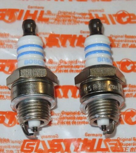 X  7005 Stihl 2x Zündkerze WSR6F BR340 BR380 BR400 BR420 BG75 SH55 SH85 SR320