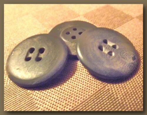Button sewing neuf lot couture 4 BOUTONS Marron Marbré 25 mm 2,5 cm 4 trous
