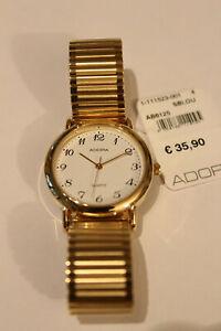 Adora Armbanduhr Metall gelb Zugband gelb AB6125