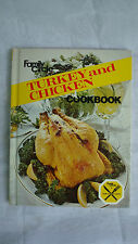 Family Circle Turkey and Chicken Cookbook Hardcover 1978. Illustrated.