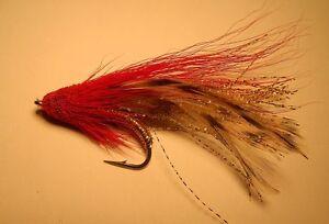 Mangrove  Muddler  Red size #4  Redfish Snook Baby Tarpon