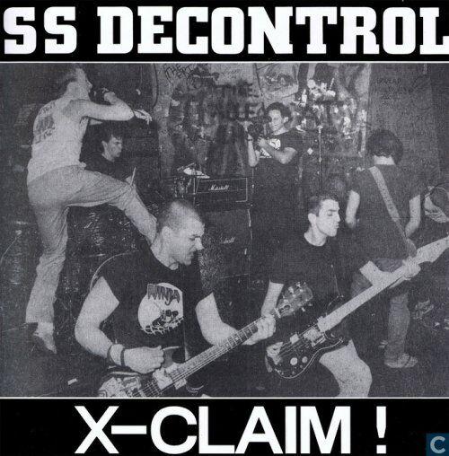 "SSD - X-Claim 12"" RARE PRESS SLAPSHOT NO TOLERANCE BOSTON DYS"