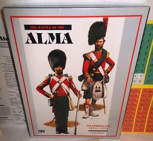 Boxed-WAR-GAME-3W-The-Battle-of-ALMA-The-Crimean-War-1854-1856-op-1994-COMPLETE