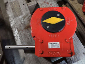 Details about ROTORK QUARTER TURN MANUAL GEARBOX AB1950HR