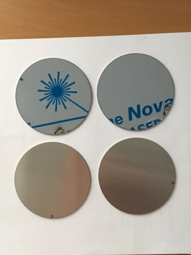 """18ga 10 pieces Stainless Steel 304 Plate Round Circle Disc 3/'/' Dia .048""""thick"""