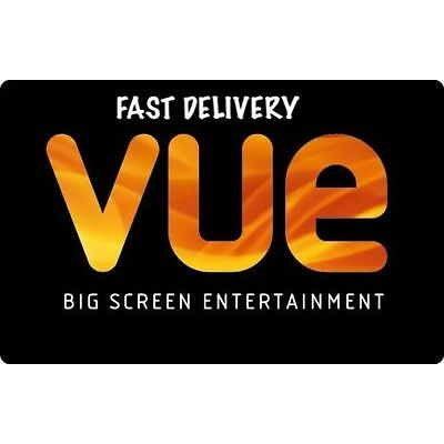 6 x Adult VUE Cinema Tickets. INSTANT DELIVERY
